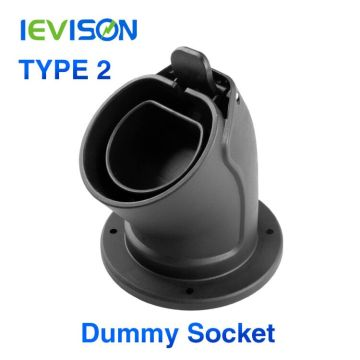 Level 2 Connector Waterproof EV Charger Cable Holster for Type2 EVSE IEC 62196-2 Station Plug Holder AC Dummy Socket