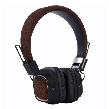 Atacado oem na orelha overhead studio bluetooth headphone