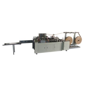Large Gift Square Bottom Paper Bag Making Machine