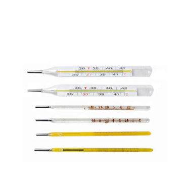 New Design Glass Thermometers Clinic Oral Armpit