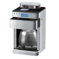 stainless steel housing coffee grinder and brewer