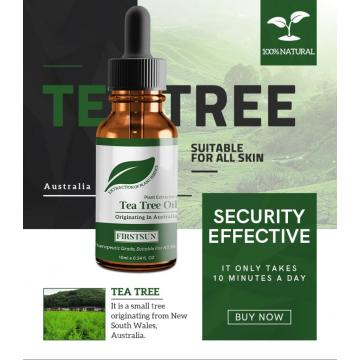 10ml Natural Tea Tree Essential Oil Acne Removal Scars Treatment Anti Scar Spots Anti-wrinkle Essential Oil Skin Care TSLM1