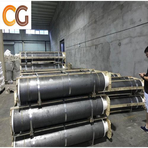RP good conductivity graphite electrode with Diameter 200mm