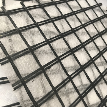 Fiberglass Geogrid Composite Nonwoven Fabric by Glue