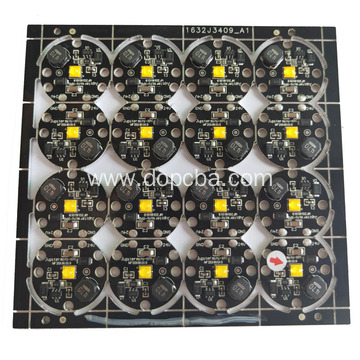 Black 2 layers LED Printed Circuit Board