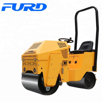 Cheap 800kg Ride On Mini Vibratory Roller FYL-860