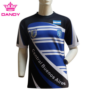 Fashionable Custom Sublimation Rugby Shirt