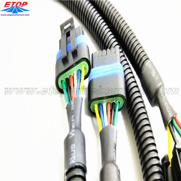 Automative Custom OEM Nissan Wiring Harnesses Connectors