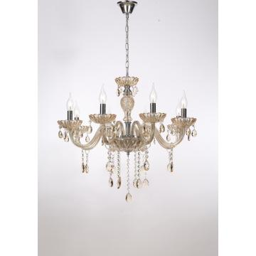 European style Dining room Indoor Classic Crystal Chandelier