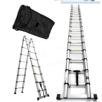 3.2m double side aluminum telescopic ladder