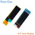 "0.91 inch OLED Module 0.91"" white/blue OLED 128X32 OLED LCD LED Display Module 0.91"" LCD Screen for Ardunio"