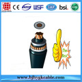 1x1200mm2 110kv CU/XLPE/CAS/MDPE Power CABLE WITH DTS Fibre