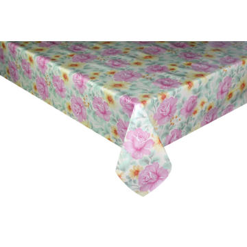 Elegant Tablecloth with Non woven backing Rectangle