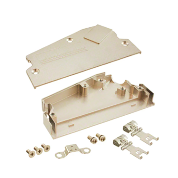1.27mm Series Shielded Backshell Kit 100P Angled Exit