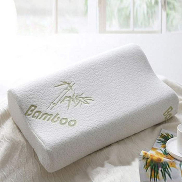 memory foam pillow bamboo