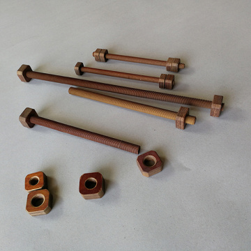 Factory Price Phenolic Threaded Rod and Nuts