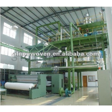 1600MM PP spunbond nonwoven fabric making machine