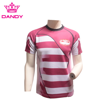 Custom Sublimation Team Rugby Shirt For Men