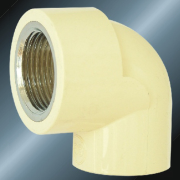 DINPN16 Water Supply Upvc Female Elbow 90° Brass