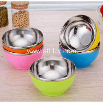 High Quality Colorful Stainless Steel Mixing Bowls