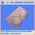 PC450LC-6 PC380LC-7K PC400-6 travel motor plate 706-88-90140