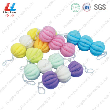 Long Mesh Bathing Sponge Ball