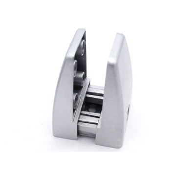 Office Desk Glass Baffle Flat Fixing Clamp