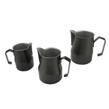 Espresso Coffee Pot Milk Frothing Kettle Jug