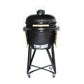 Apple green Ceramic Kamado Barbecue Grills