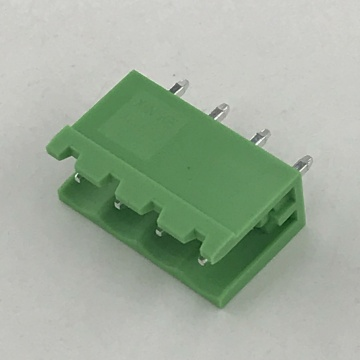 5.08mm pitch 180 degree straight PCB male terminal