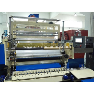 LLDPE Plastic Stretch Film Machine 3 Extureder