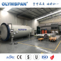 ASME standard small carbon fiber material autoclave