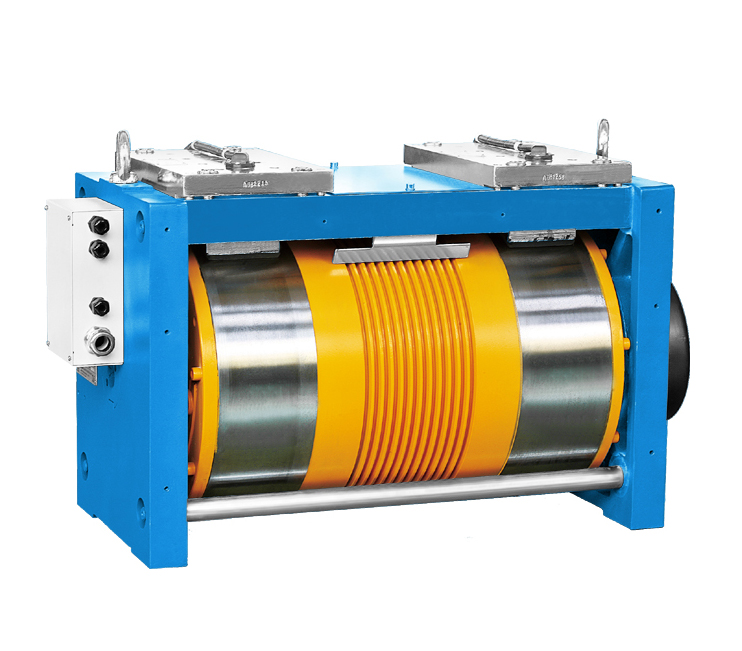 Elevator Gearless Traction Machine for Car Elevators