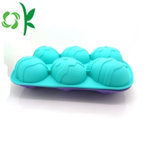 Silicone 6eggs Soap Custom Popular Soap Making Tools