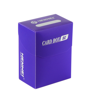 Plastic 80 Pcs Capacity cards protecting deck Boxes