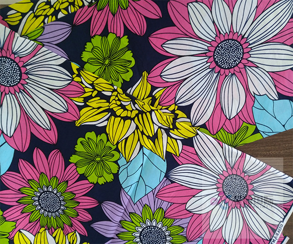 Cotton Wax Print Textile