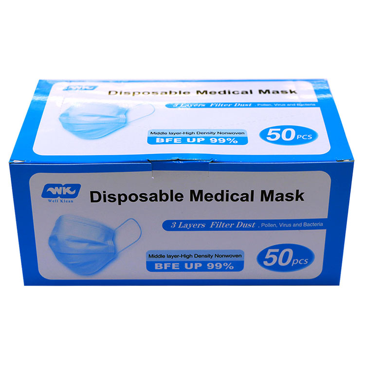 Medical Face Mask packing3