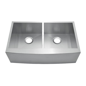 332010D Undermount Hand Made Overlap Sink