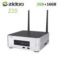 "Zidoo Z10 Android 7.1 TV Box 1000M LAN 4K HDR Smart Set Top Box Realtek RTD1296 2GB RAM 16GB ROM Support 3.5"" HDD Media Player"