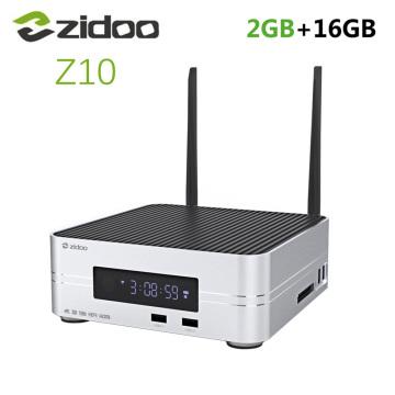 Zidoo Z10 Android 7.1 TV Box 1000M LAN 4K HDR Smart Set Top Box Realtek RTD1296 2GB RAM 16GB ROM Support 3.5