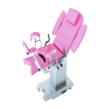 High-end stainless steel gynecology delivery table