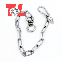 DIN766/DIN763 6mm Long Link Chain