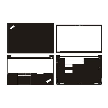 Carbon fiber Laptop Sticker Skin Decal Cover Protector for Lenovo Thinkpad E15 15.6