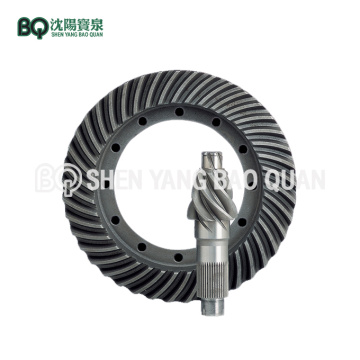 Spiral Bevel Gear for Tower Crane Hoisting Reducer