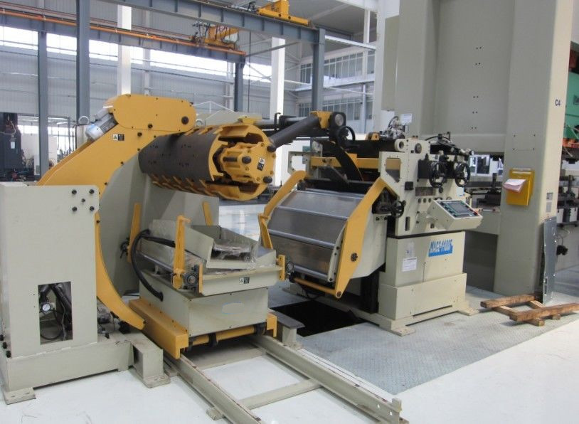 Decoiling Coil Processing Nc Servo Feeder Straightener Press Feed Stamping Line