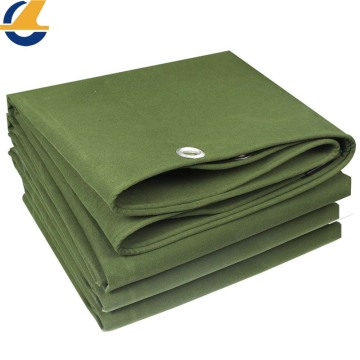 Breathable Polyester Cotton Canvas Tarps