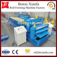 Hydraulic Double Sheet Roll Forming Machine