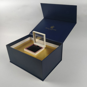 Royal blue Luxury magnetic presentation box