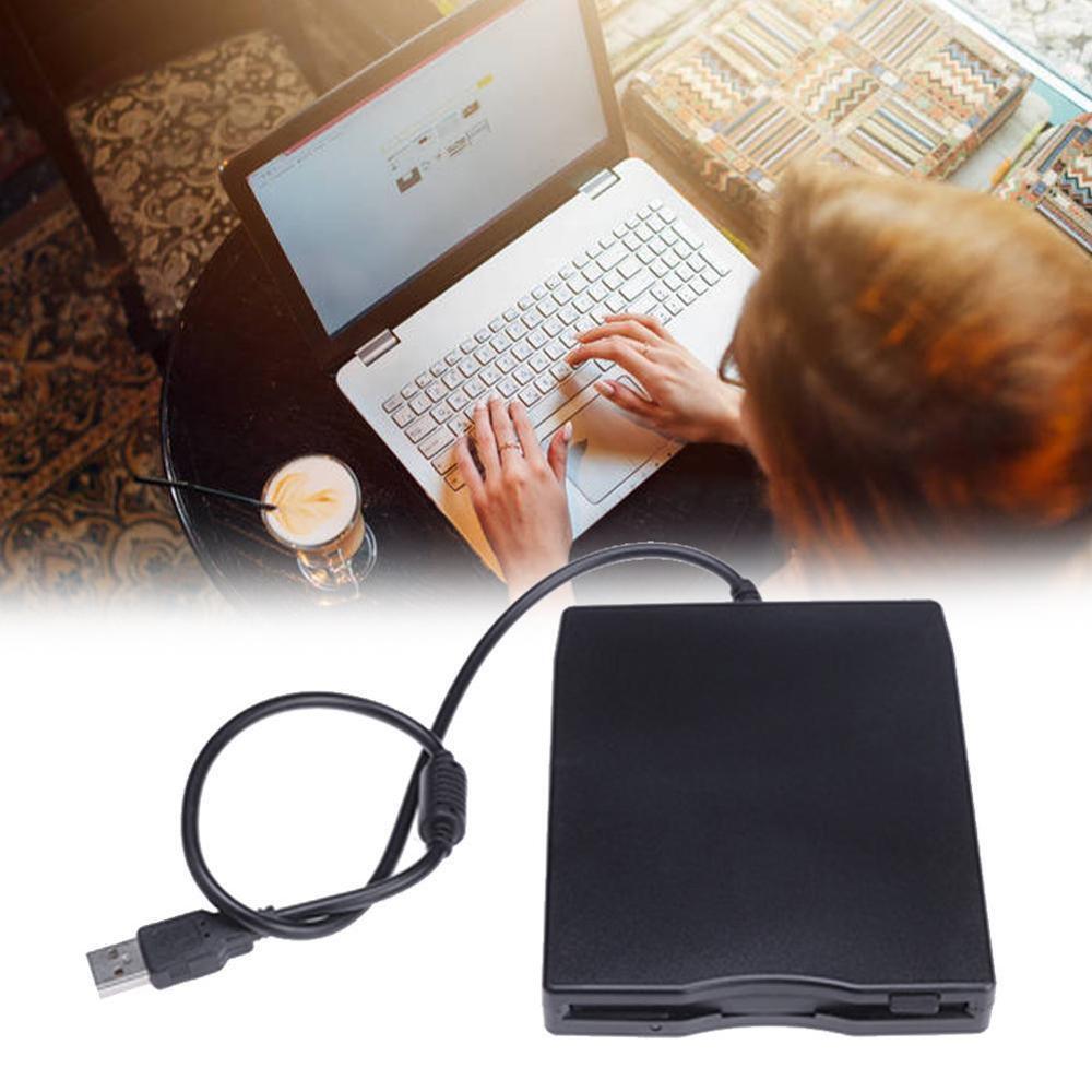 "USB Floppy Disk Reader Drive 3.5"" External Portable FDD PC Desktop Drive Diskette For Windows 1.44 10/7/8/XP/Vista MB Lapto X8W0"
