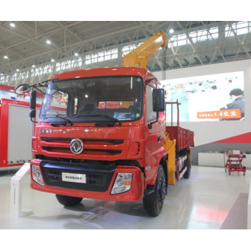 Dongfeng Chassis 8 Ton Mobile Truck Crane